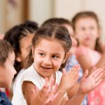 children clapping